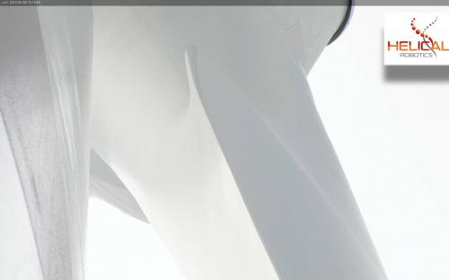 HD Video Photo of Liberty 2.5MW Wind Turbine Hub Taken While HR-MP20 is On Station.